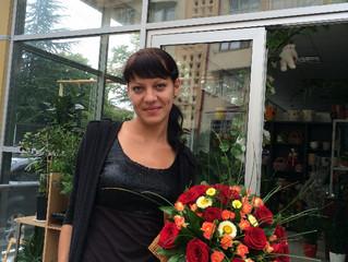 """Букет """"Краски осени"""" Заказать, купить цветы и букеты с доставкой в Адлере, Сочи. Недорого"""