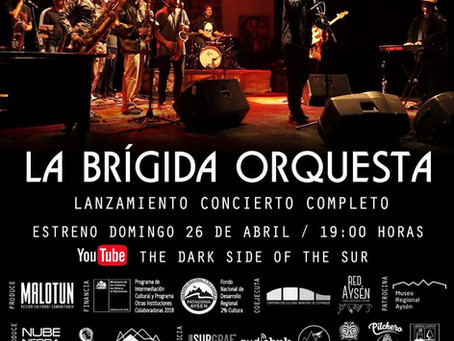 "[ 🎼 CONCIERTO EN LÍNEA 🎶 ] ""The Dark Side of the Sur"": La Brígida Orquesta"