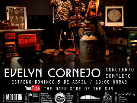 [ 🎼 CONCIERTO EN LÍNEA 🎶 ] The Dark Side of the Sur: Evelyn Cornejo