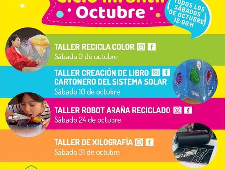 [ Santiago Cultura ] Ciclo Infantil #Octubre