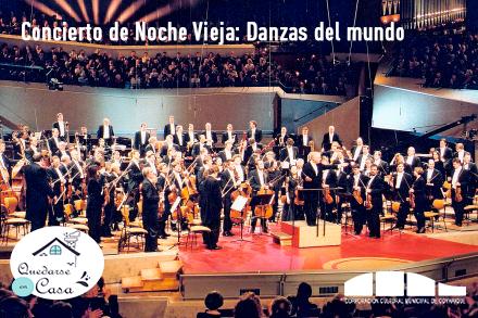 """[ 🎶 CONCIERTO EN LÍNEA 🎶 ] """"Concierto de Noche Vieja 2001: Danzas de todo el mundo"""""""