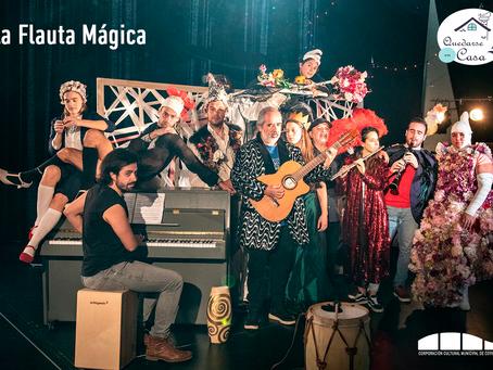 """[ 🎭 TEATRO EN LÍNEA 🎭 ] """"La Flauta Mágica"""""""
