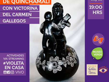 [ Museo Violeta Parra 💜 ] #VioletaEnCasa