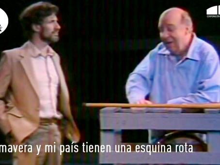 """[ 🎭 TEATRO EN LÍNEA 🎭 ] """"La primavera y mi país tienen una esquina rota"""" (1984)"""