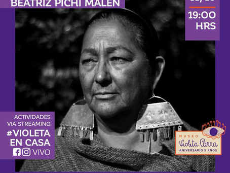 Museo Violeta Parra #Violeta en Casa, Concierto via Streaming ‼️ 👀
