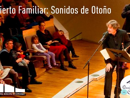 """[ 🎶 CONCIERTO EN LÍNEA 🎶 ] """"Concierto Familiar: Sonidos de Otoño"""""""