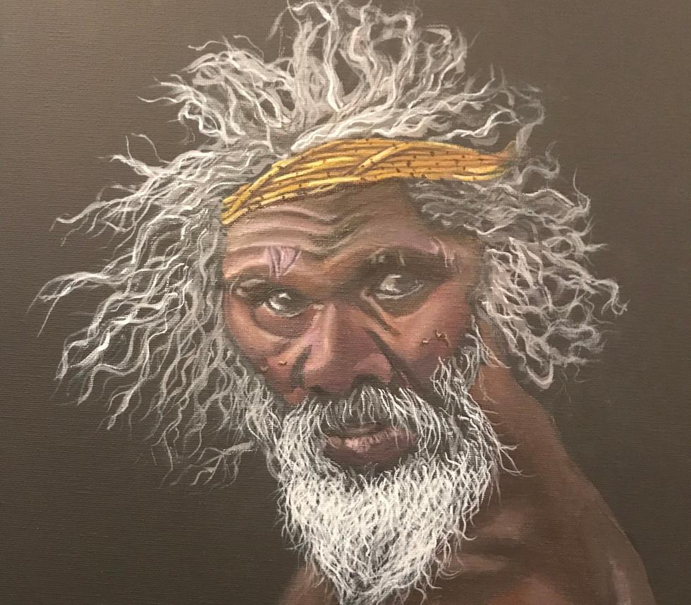 AUSTRALIA NATIVE MAN
