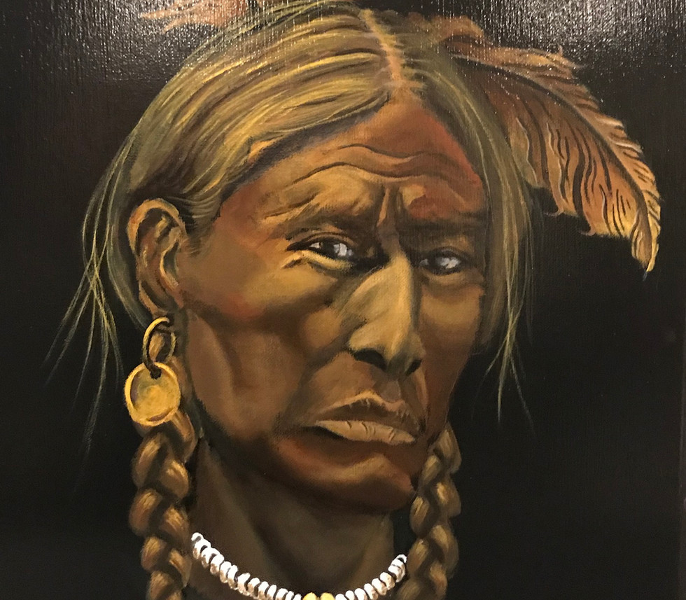 Native American young man