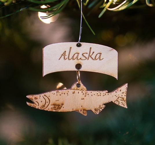 Christmas Ornament - Salmon