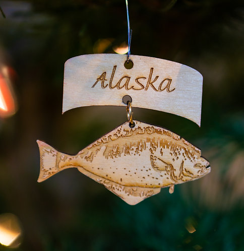 Christmas Ornament - Halibut