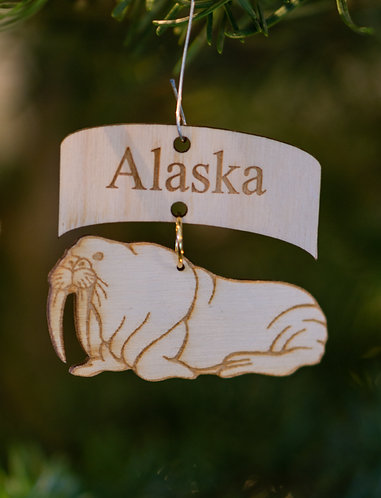 Christmas Ornament -Walrus