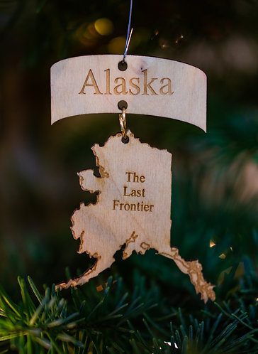 Christmas Ornament - The Last Frontier