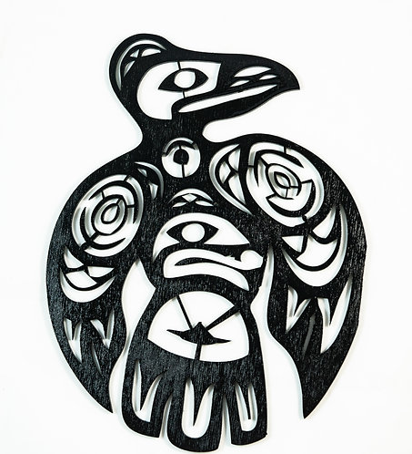 Totemic Raven Cut Out