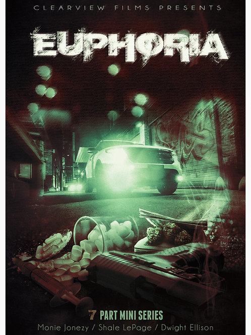 EUPHORIA 7 PART MINI SERIES DVD & SOUNDTRACK