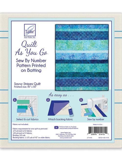 QAYG Lap Quilt - Savvy Stripes