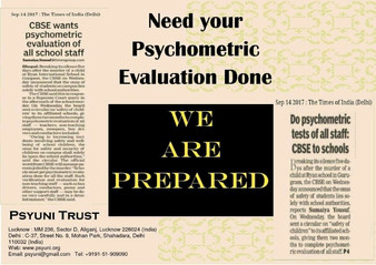 Psychometric Evaluation