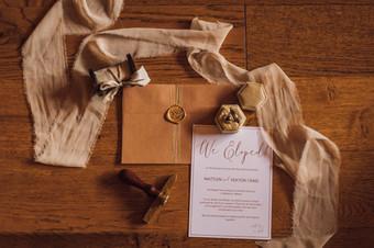 Invitation & Envelope- Terracotta
