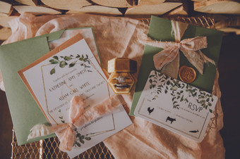 Invitation & RSVP- Eucalyptus