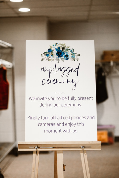 Unplugged Ceremony- Navy