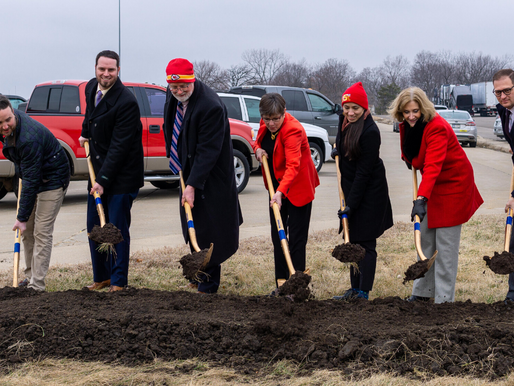 Turner Diagonal Groundbreaking Held