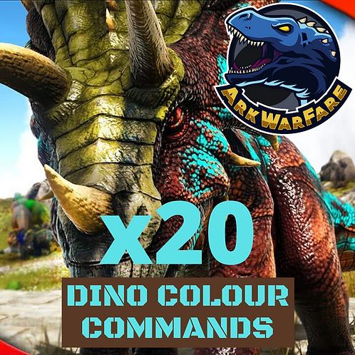 Dino Colour Commands (20 Tokens)