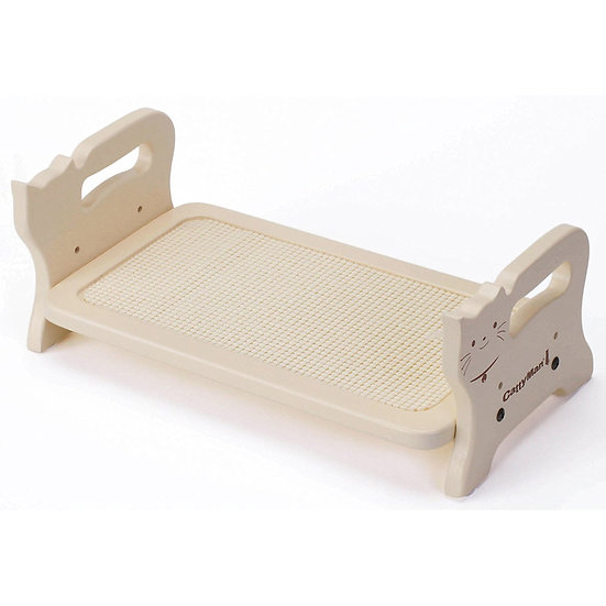 Анатомический деревянный стол для еды с функцией защиты от скольжения миски