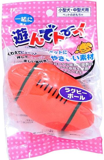 Игрушка в форме мяча-регби для собак средних пород