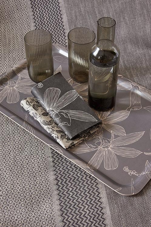 Le Jacquard Francais - Tablett Slow Life Carbone Holz-