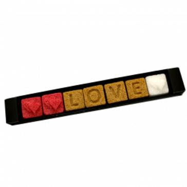 ERCUS - Love/Liebe - handgefertigte Zucker