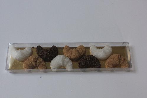 ERCUS - Croissants - handgefertigte Zucker