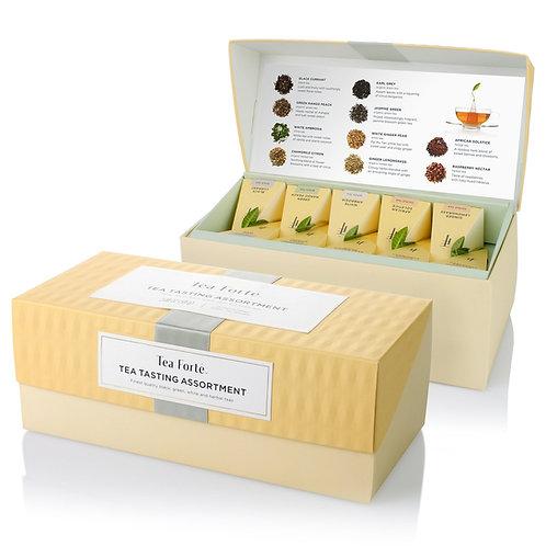Tea Forté - Teepyramiden Präsentationsbox gemischt