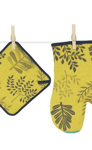 Tissage Moutet - Foret - Topflappen und -handschuh