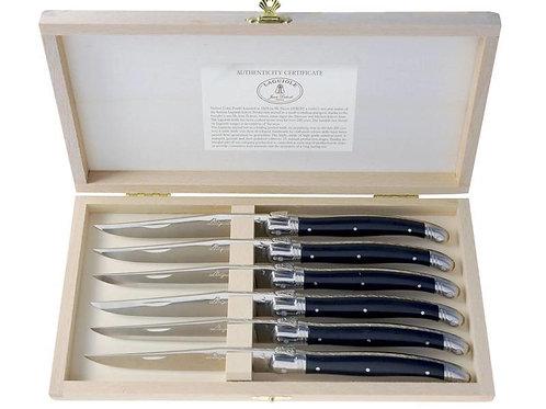 Jean Dubost - Laguiole Steakmesser schwarz