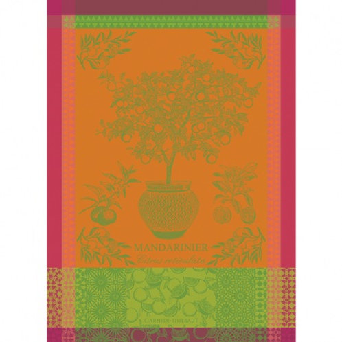 Garnier-Thiebaut - Mandarinier En Pot Jaune Soleil
