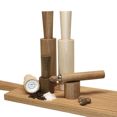 Raumgestalt - Pfeffer/Salzmühle aus Holz in Ahorn mini