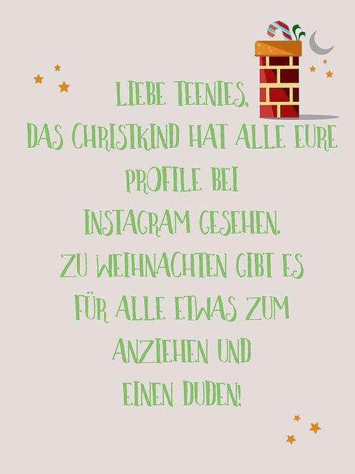 "Villa Landleben - Postkarte ""Liebe Teenies, ..."""