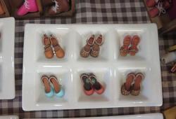 小さな革の靴なんです