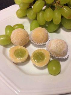 Com uva sem caroço!
