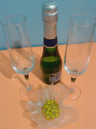 Brigadeiro gourmet de champanhe