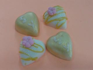 Chocolatinhos de coração
