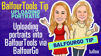 Balfour Tools_Uploading Portraits via Ba