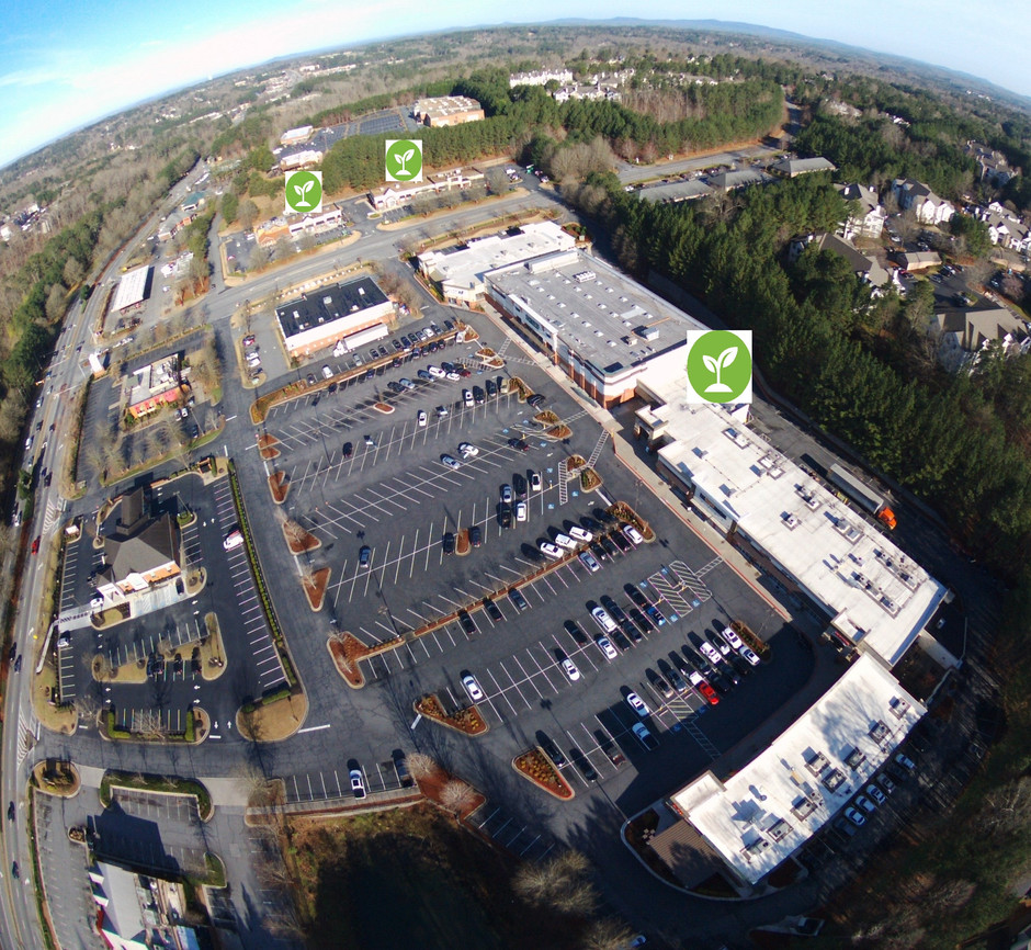 Shops at Towne Lake and Buckhead Crossing Retrofit Lighting Project