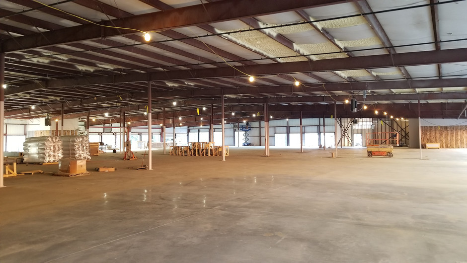 New Construction Self Storage lights up with Sprout Lighting