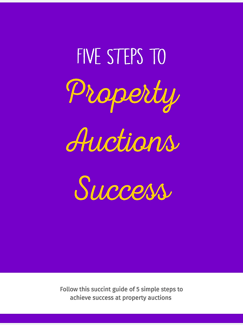 5 Easy Steps to Property Auctions Success