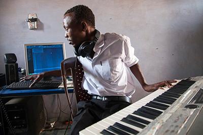 Músic Al Feek, Darfur, Sudan