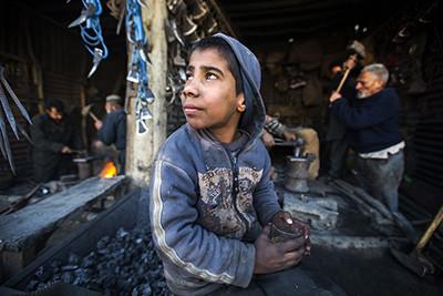 La curta infància dels afganesos