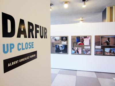Darfur Up Close exhibition