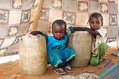 Aigua al Darfur