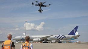 Startups usa drones para realizar inspeções em aviões