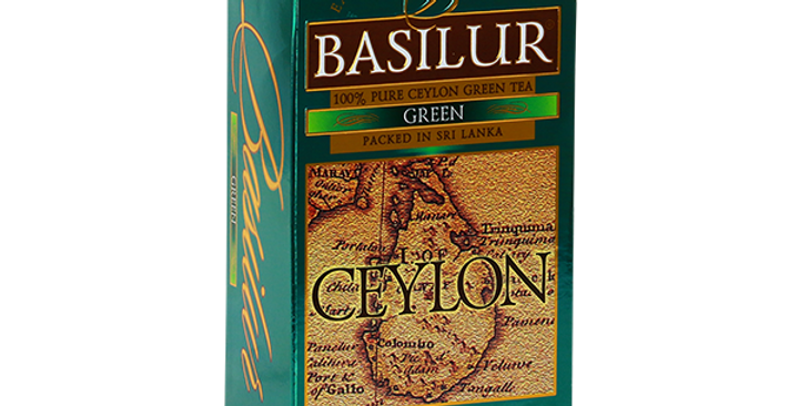 Basilur Island Of Green Tea 37.5g